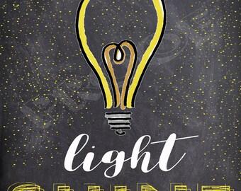 Let Your Light Shine- Matthew 5:16