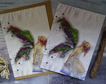 Fabric Faerie Notebook and Card Set