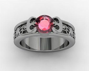 Princess  Leia / Star Wars inspired ring