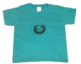 Linocut Pangolin Shirt