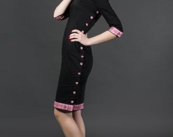 Embroidered Whimsical Dress