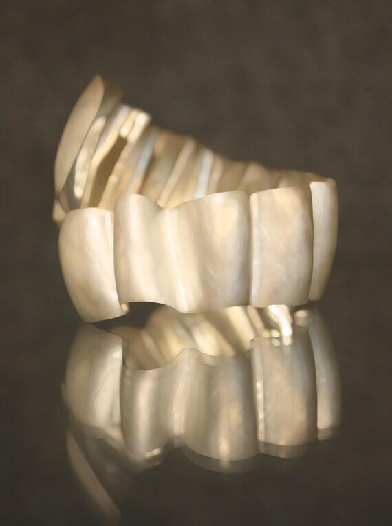 sterling wrap bracelet ooak