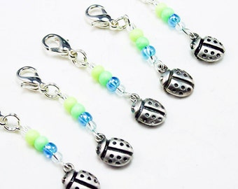 Sale Clearance Childrens Jewelry - Ladybug Charm Birthday Party Favors. Lady Bug Charm. Girls Party Favors. BSC007