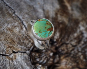 Turquoise Mountain Sterling Silver Ring