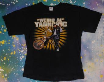 WEIRD AL YANKOVIC  Rock T-Shirt Size L