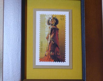 Star Wars Framed Stamp - Queen Padme Amidala - No. 4143H