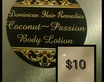 Coconut~Passion Body Lotion