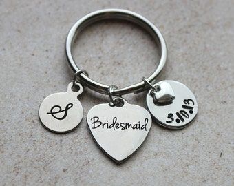 Bridesmaid Keychain, Bridesmaid Gift Ideas, Bridesmaid, Wedding Gifts, Gifts for Bridesmaid, Bridesmaid Gifts, Wedding Gift for Bridesmaid