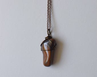 Gold Tiger's Eye Necklace