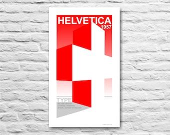 Helvetica 1957 Poster