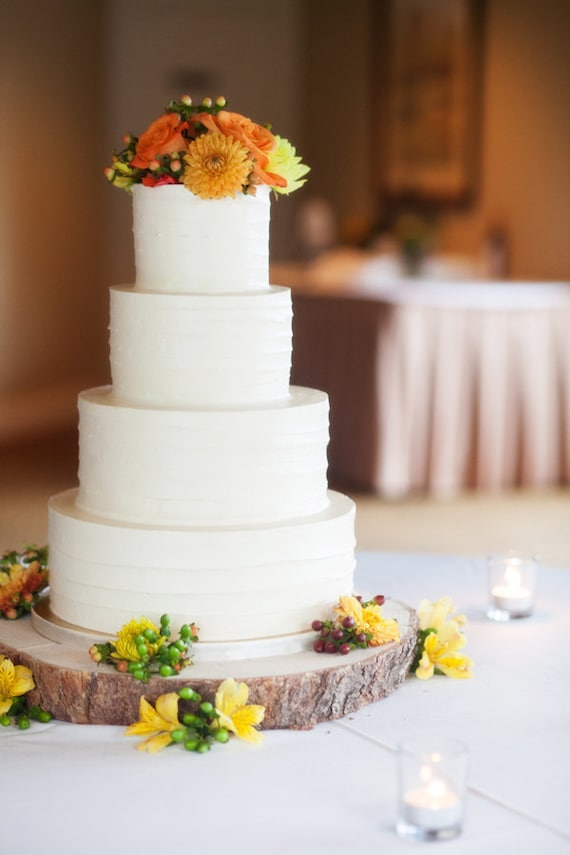 can i prune a wedding cake tree 14 rustic wood tree slice wedding cake base or cupcake 12359