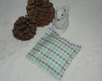 Heating pad Pocket - heater for hands - seeds and lavender - geometric