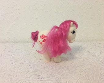 August Poppy Birth flower Pony My Little Pony, vintage My Little Pony