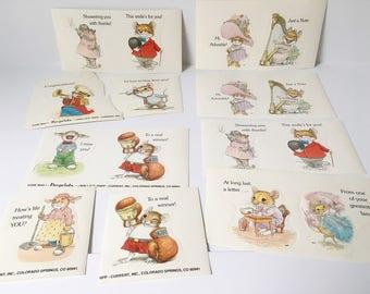 Animal stickers 1980s stickers cute animal reward stickers 16 stickers teachers stickers