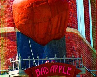 Chicago Coaster Collection: Bad Apple (single stone tile coaster)