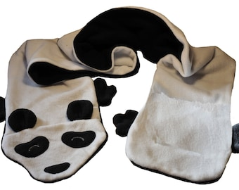 Panda Fleece Scarf