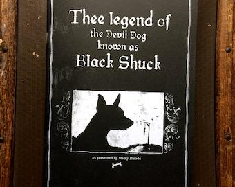 Thee Legend of Black Shuck - zine - self published - indie press - folk horror