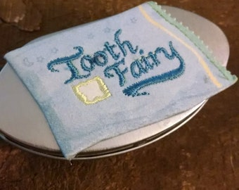 Tooth Fairy Pillow Box, handmade