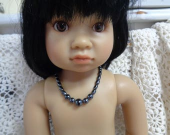 Natural stone  Doll necklace