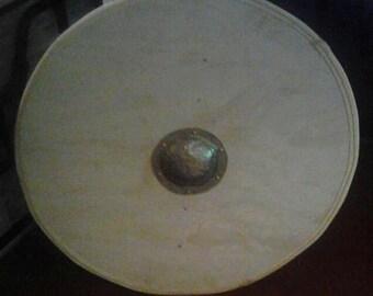 Unpainted Economy Viking Shield