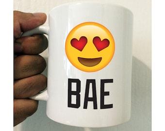 Emoji Bae Mug