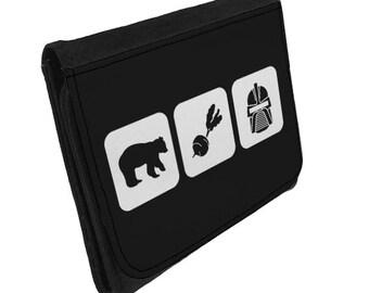Bears Beets Battlestar Galactica - Wallet - The Office / Dwight Schrute Inspired - Ideal Secret Santa/Stocking Filler Gift