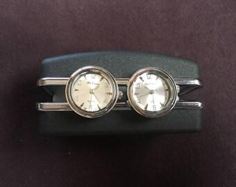 Da Vanci Silver Watch Cuff Links 1428