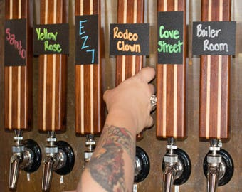 Chalkboard Beer Tap Handle - What's on Draft Tap Handle - Perfect for Home Bar - Kegerator - Keezer -  - Homebrew