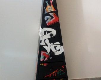 Furniture graffiti, furniture pyramid, furniture triangle