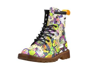 Women's Graffiti Boots