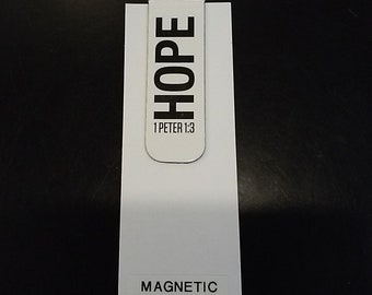 Magnetic Book Mark- Hope 1Peter 1:8