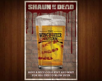 Shaun of the Dead Poster (Multiple Sizes)
