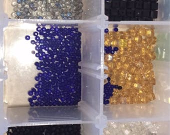 Sale!! 120 piece 3 mm glass beads Bulk