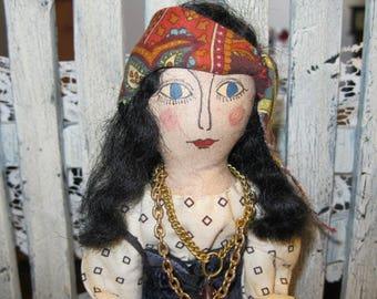 Fortune Teller Gypsy doll