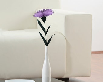 Aster Flower, Paper Flower, Unique Flower, Origami Flower, Home Decor, Table Decoration, Home Decoration, Artificial Flower, Origami Aster
