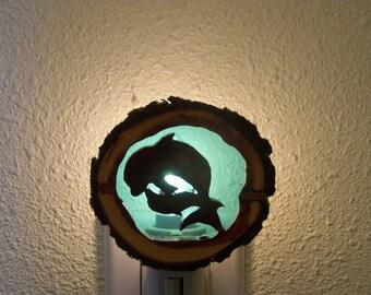 Dolphins nightlight