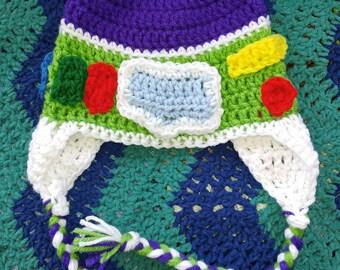 Toddler size buzz lightyear hat
