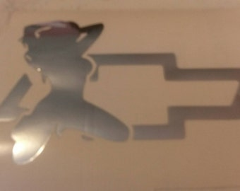 Chevy decal with free shipping