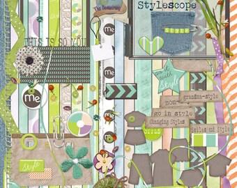 Digital Scrapbooking - StyleScope Kit