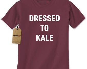 Dressed To Kale Mens T-shirt