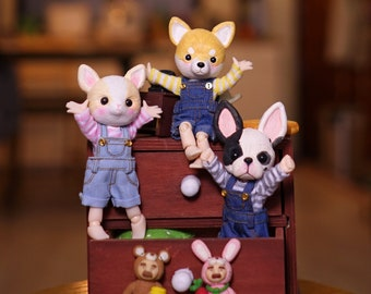PJdolls-[Animal cuties] OOAK handmade animal dolls/Only one