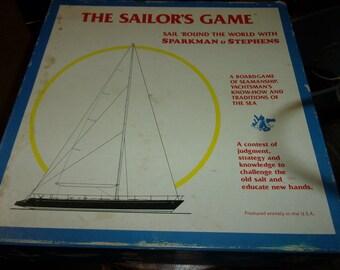 The Sailors Game a board game of Seamanship nautical