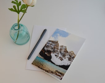 Nature Inspired Cards | Card for Him | Blank Card Set | Greeting Card | Notecards | Mountain Card Set of Blank Cards With Envelopes