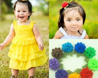 Baby Hair Clips.Toddler Hair Clips.Girl Hair Clips.Baby Felt Clip.Felt Flower Clip.Eco Friendly Felt Flower.Felt Flower Hair Clip.Hair Clips
