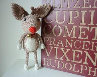 Reindeer: A Crochet PDF Pattern