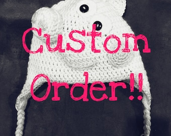 Custom Crocheted Hat