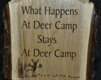 Hunters Man Cave Signs : Gift for deer hunter gifts