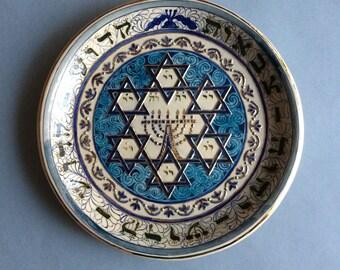Kabbalist plate