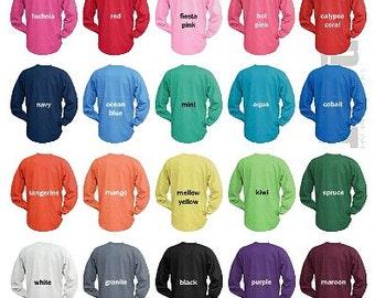 Monogrammed Billboard jersey - Monogrammed Spirit Tee - Monogram Spirit Tshirt - Custom Billboard Jersey -