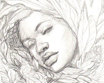 Cocoon ORIGINAL Drawing